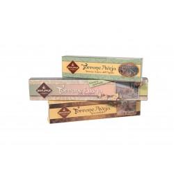 Tris Nougat Chocolate-White with Almonds-Gianduia - 580 g...
