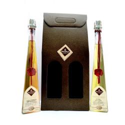 Conf. Regalo, 2x200ml: Liquore di Genziana ed allo Zafferano - Dolci Aveja