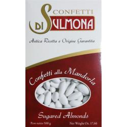 Sugared almonds from Sulmona - Classic with Almond, White...