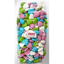 Sugared almonds from Sulmona - Chocolate Heart Shaped,...