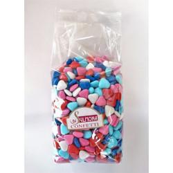 Sugared almonds from Sulmona - Mini Chocolate Hearts,...