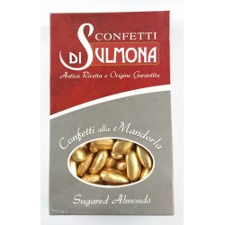 Sugared Almonds from Sulmona - Golden Wedding - Gold...