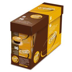 128 Capsules Blend Aromatico - Comp. Lavazza A modo mio -...