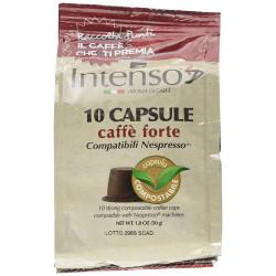 120 Capsules comp. Nespresso - Hard Flavour - Intenso...