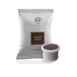 100 Capsules Coffee - Classico - Comp. Uno System - Lollo...