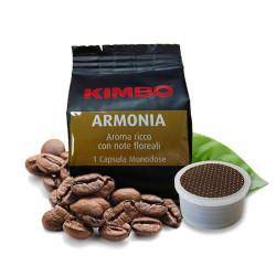 100 Capsules Coffee - Miscela Armonia 100% Arabica -...
