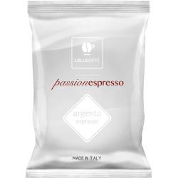 100 Capsules Coffee - PassioNespresso Argento - Comp....
