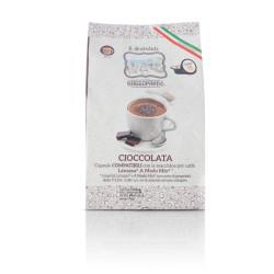 128 Capsules Di Cioccolata - Comp. Lavazza A Modo Mio -...