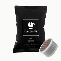 100 Capsules Coffee - Nero - Comp. Lavazza Espresso Point...