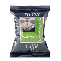 100 Capsules Coffee - Insonnia - Comp. Lavazza Espresso...