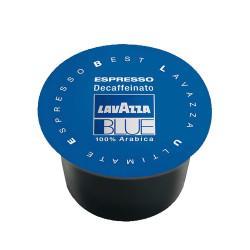 100 Capsules Coffee - Espresso Dek - Lavazza Blue