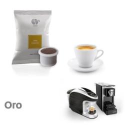 100 Capsules Coffee - Oro - Comp. Uno System - Lollo Coffee