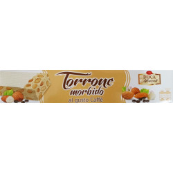 Soft White Nougat with Coffee - 150g - Duca Moscati