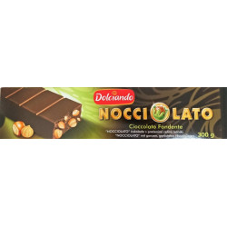 Dark Chocolate Nougat whit Hazelnuts - 300g - Dolciando