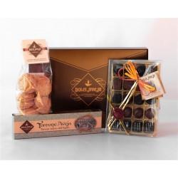 Gift Pack Prezioso - Classic Nougat from L'Aquila 200g,...