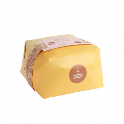 Panettone Mediterraneo, with candied pineapple and...