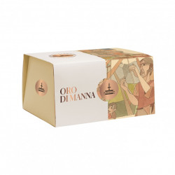 Panettone Oro di Manna, with gianduia chocolate and manna...