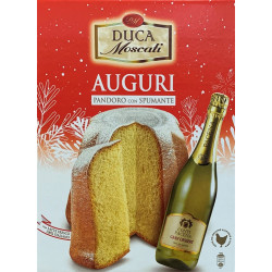Gift Pack - Pandoro and Sparkling Wine - Duca Moscati