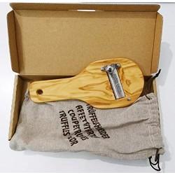 Sulpizio Tartufi - Olive Wood Truffle Slicer - 1pz -...