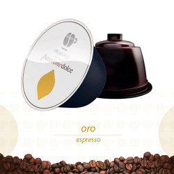 192 Capsules Coffee - Oro - Comp. Dolce Gusto - Lollo Coffee