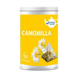 Chamomile, Jar with 15 Pyramidal Filters of 1.3g -...