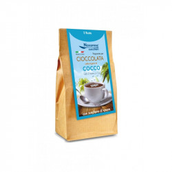 Hot Chocolate - Coconut Flavor - 5x25g - 125g - Novarese...