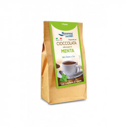 Hot Chocolate - Mint Flavor - 5x25g - 125g - Novarese...