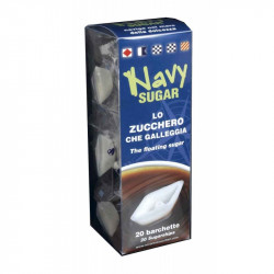 Navy Sugar, Floating Sugar - 20 pz - Novarese Zuccheri