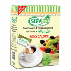 Stevida, Stevia-based Natural Sweetener in Sachets - 42pz...
