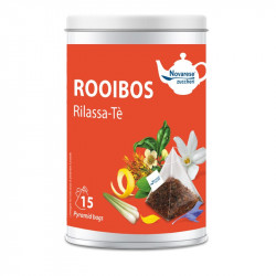 Tè Rooibos Rilassa-te, Jar with 15 Pyramidal Filters of...
