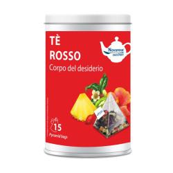 Tè Rosso Corpo del Desiderio, Jar with 15 Pyramidal...