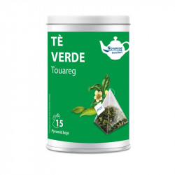 Tè Verde Tuareg, Jar with 15 Pyramidal Filters of 2g -...