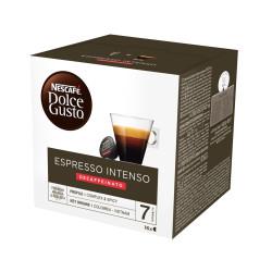 16 Kapseln Nescafè Dolce Gusto - Espresso Intenso Dek -...