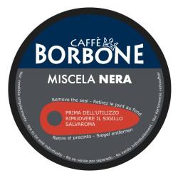90 Kapseln Schwarz Blend - Comp. Dolce Gusto - Caffè Borbone