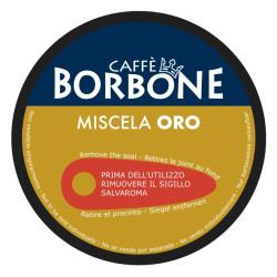 90 Kapseln Gold Blend - Comp. Dolce Gusto - Caffè Borbone