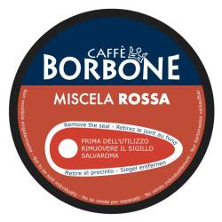 90 Kapseln Rot Blend - Comp. Dolce Gusto - Caffè Borbone