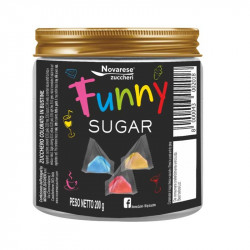 Funny Sugar, Colored Sugar - 40 pz - Novarese Zuccheri