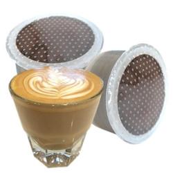 128 Capsules Di Cortado - Comp. Lavazza Espresso Point -...