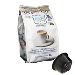 128 Capsules Coffee - Blu - Comp. Dolce Gusto - Gattopardo