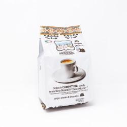 128 Capsules Coffee - Dakar - Comp. Dolce Gusto - Gattopardo
