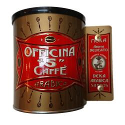 Caffè Macinato - Aroma Dek - 250g - Officina 5 Caffè