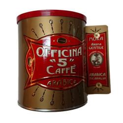 Caffè Macinato - Aroma Gentile - 250g - Officina 5 Caffè
