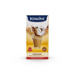 10 Capsule Comp. Nespresso - Cortado - Caffè Borbone