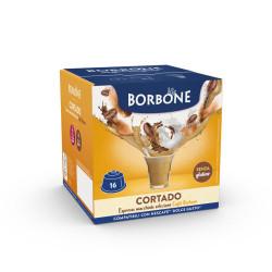16 Capsule Comp. Dolce Gusto - Cortado - Caffè Borbone