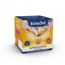 16 Capsule Comp. Dolce Gusto - Ginseng - Caffè Borbone
