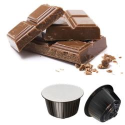 128 Capsule di Cioccolata - Comp. Dolce Gusto - Gattopardo