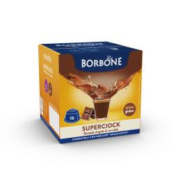 16 Capsule Comp. Dolce Gusto - Cioccolato - Caffè Borbone