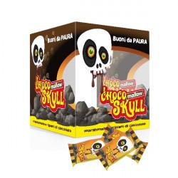 Marshmallow Halloween - Chocco Skull - Box da 6 pz