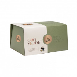 Fiasconaro - Panettone Oro Verde coated with chocolate...