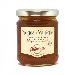 Offidius - EXTRA Jam from plum and Bourbon vanilla from...